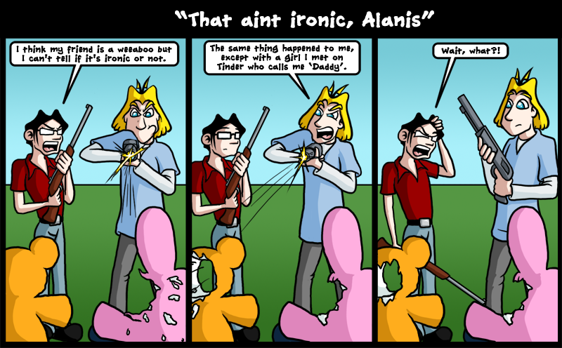 That ain't ironic, Alanis