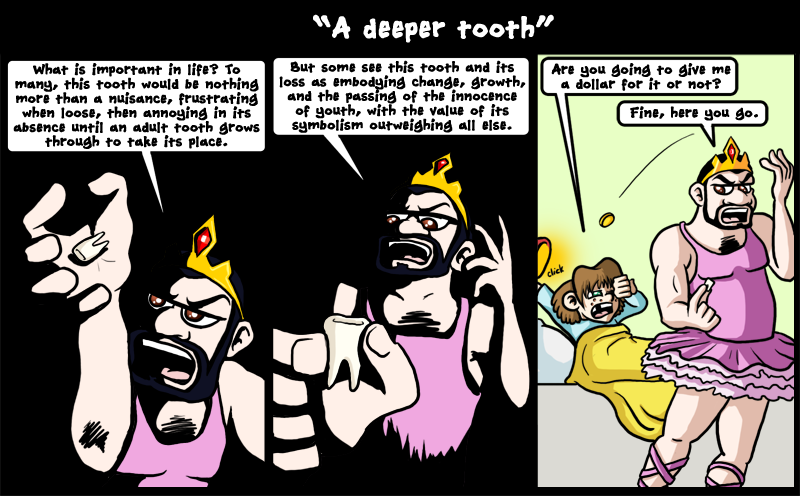 A deeper tooth