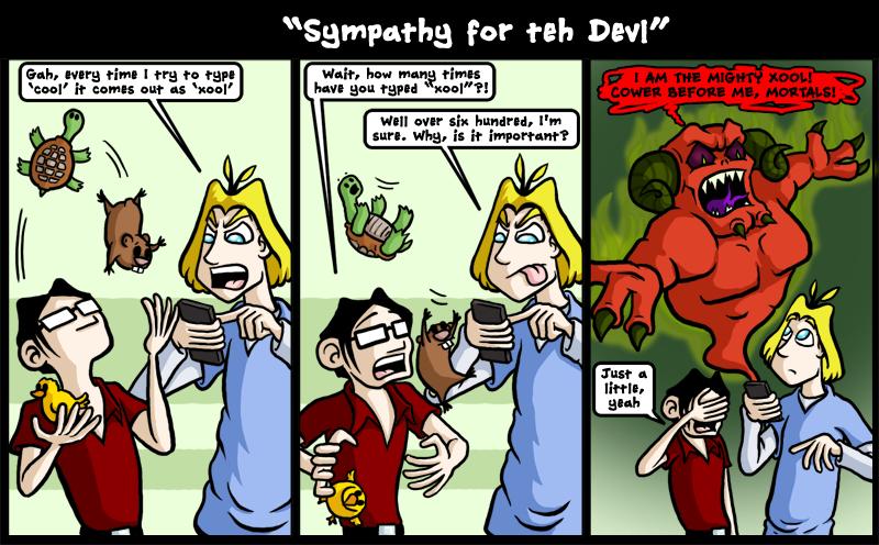 Sympathy for teh Devl