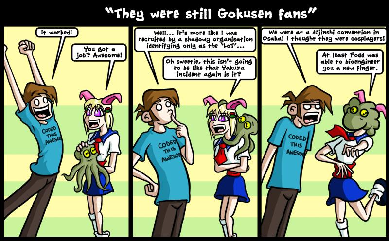 They were still Gokusen fans